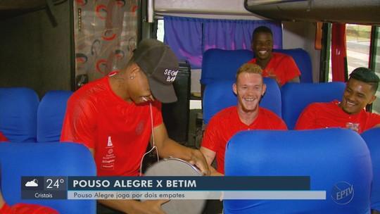 """Pouso Alegre viaja com missão de furar a defesa do Betim: """"Um planejamento a cada jogo"""""""