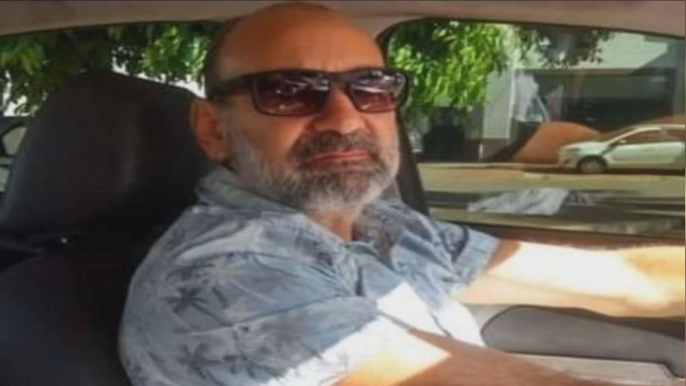 José Maria Moreira Filho, de 58 anos, policial civil atingido por carro enquanto pedalava em rodovia no DF.— Foto: Arquivo pessoal