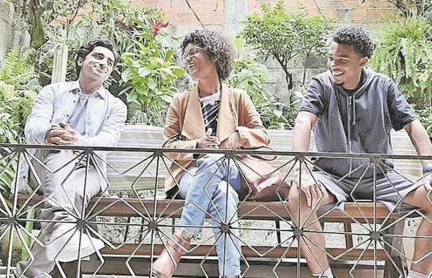 Bilaal Avaz, Heslaine Vieira e Juan Paiva (Foto: Reprodução/ Instagram)