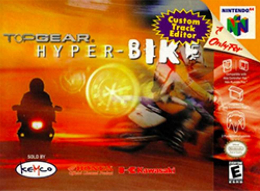 Top Gear Hyper Bike foi o único a ter motos — Foto: Reprodução/Felipe Vinha