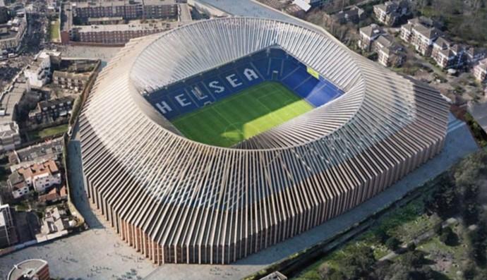 Projeto novo Stamford Bridge Chelsea (Foto: Divulgação Chelsea FC)