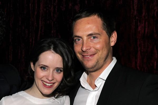 A atriz Claire Foy e o ator Stephen Campbell (Foto: Getty Images)