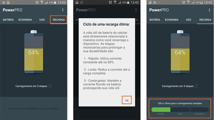 Otimize o tempo e modo de recarga do Android com o app (Foto: Reprodução/Barbara Mannara)