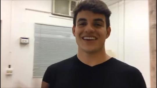 Antônio comemora vitória de Alyson no Gran Hermano e manda recado: 'Te espero no Brasil'