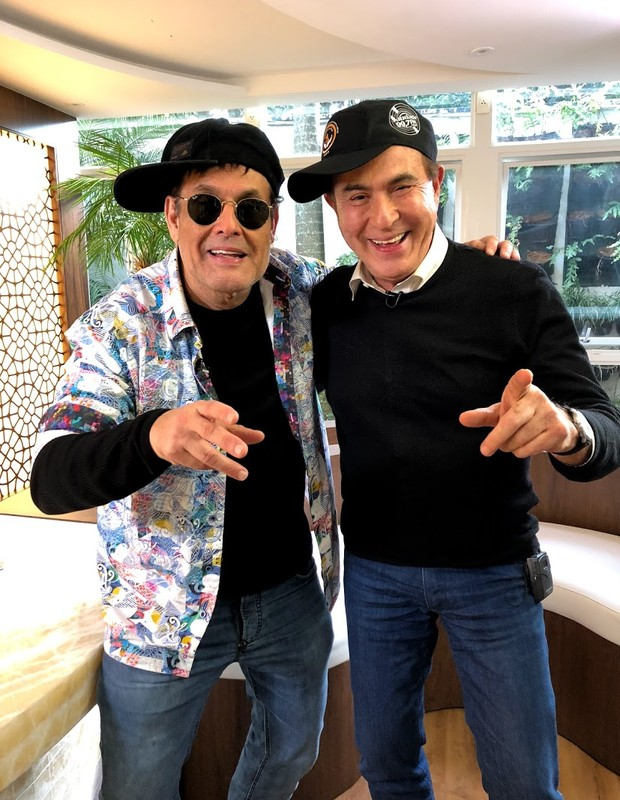 Sérgio Mallandro e Amaury Jr. (Foto: MD Assessoria/Divulgação)