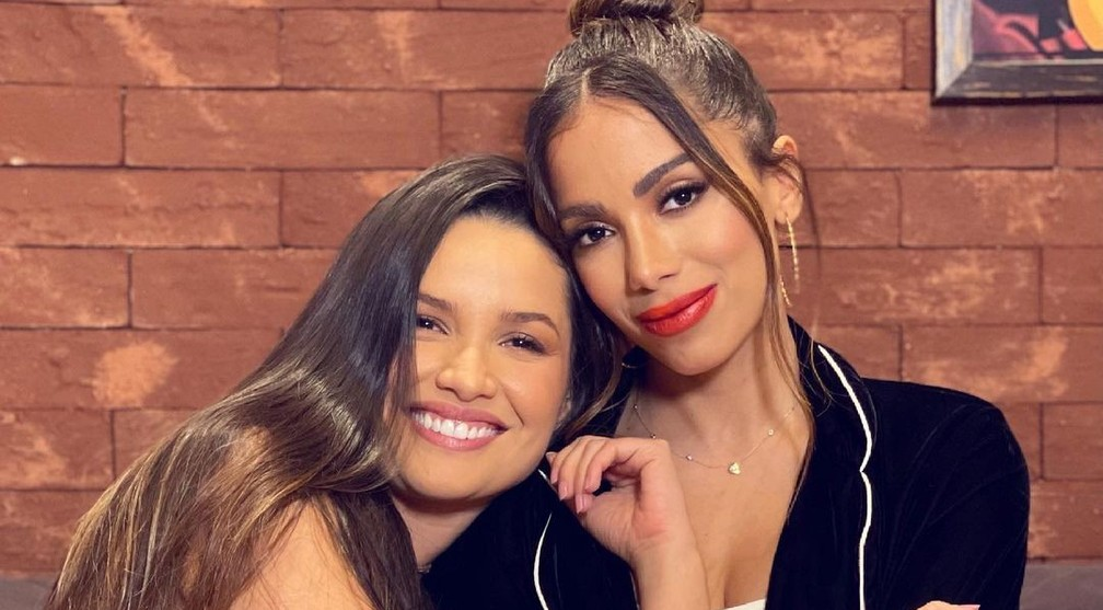 Juliette e Anitta — Foto: Reprodução / Instagram