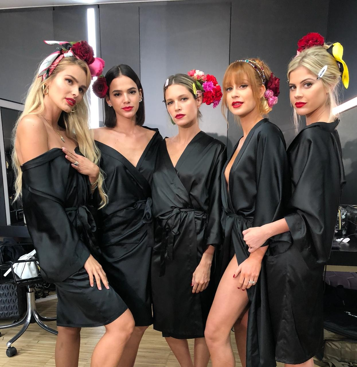 Bruna Marquezine, Yasmin Brunet, Marina Ruy Barbosa, Helena Bordon e Lala Rudge (Foto: Divulgação)