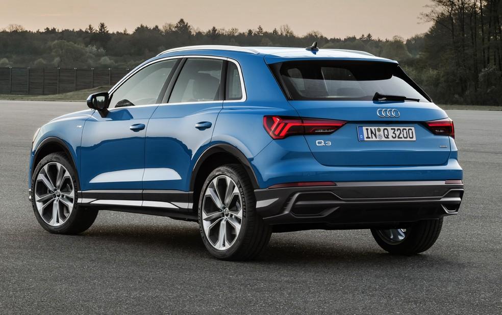 Novo Audi Q3 — Foto: Divulgação