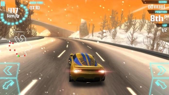 Game de corrida aposta na leveza para trazer carros velozes e diversão até mesmo aos aparelhos mais modestos (Foto: Divulgação)