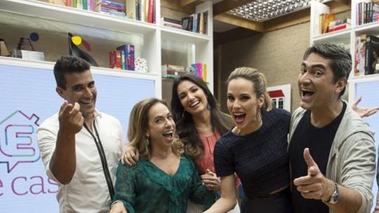Apresentadores do 'É de Casa' contam se cumpriram suas metas de 2016