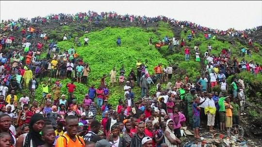 Desmoronamento de lixão na Guiné deixa 8 mortos
