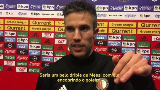 Autor de golaço na Copa de 2014, Van Persie imagina sucessor em 2018