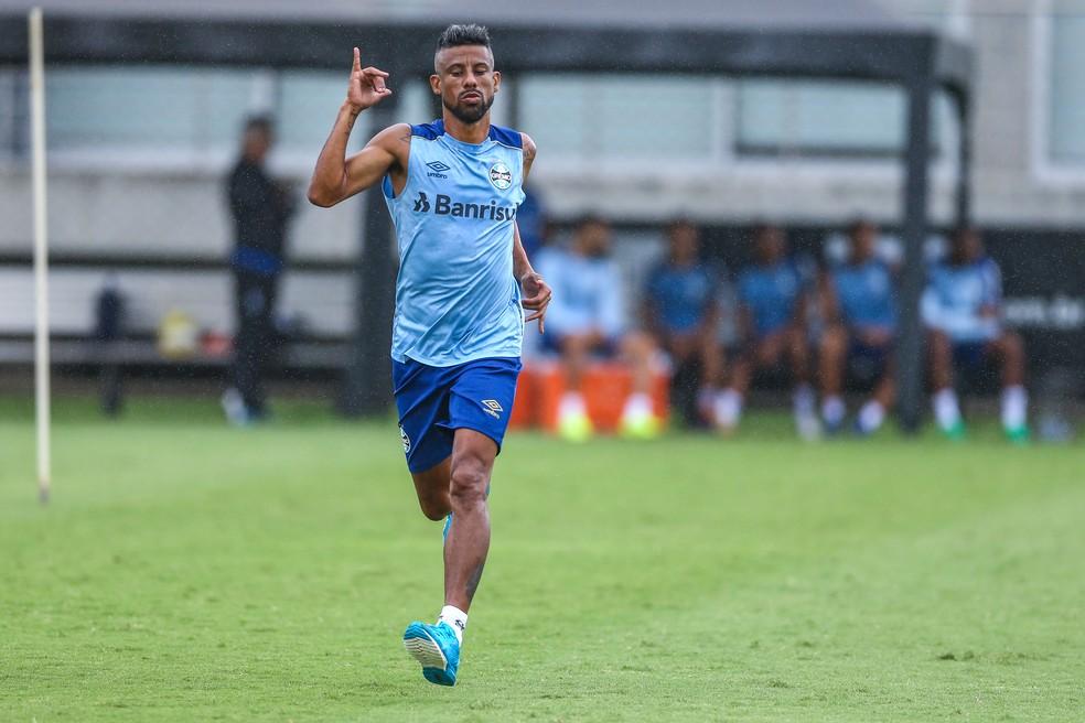 """Léo Moura proejta volta ao Grêmio com """"tanque cheio"""" — Foto: Lucas Uebel/Grêmio"""