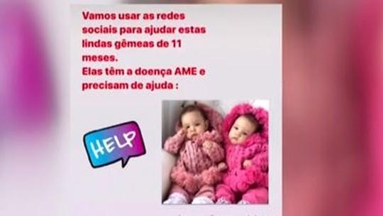 Saiba como ajudar gêmeas com doença rara