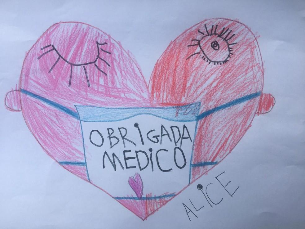 Criancas Fazem Desenhos Com Mensagens De Apoio A Medicos Durante A Pandemia Da Covid 19 Regiao Serrana G1