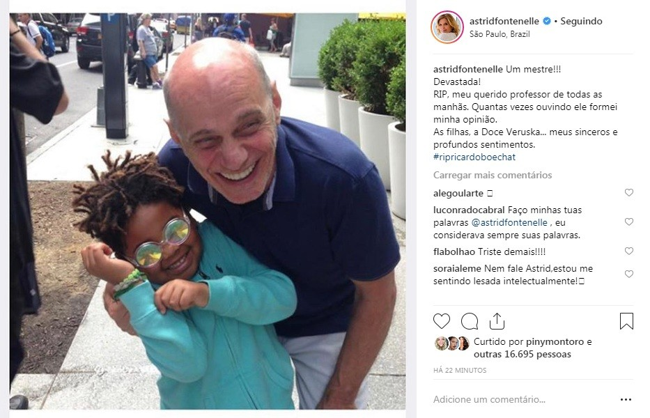 Astrid Fontenelle (Foto: Reprodução Instagram)