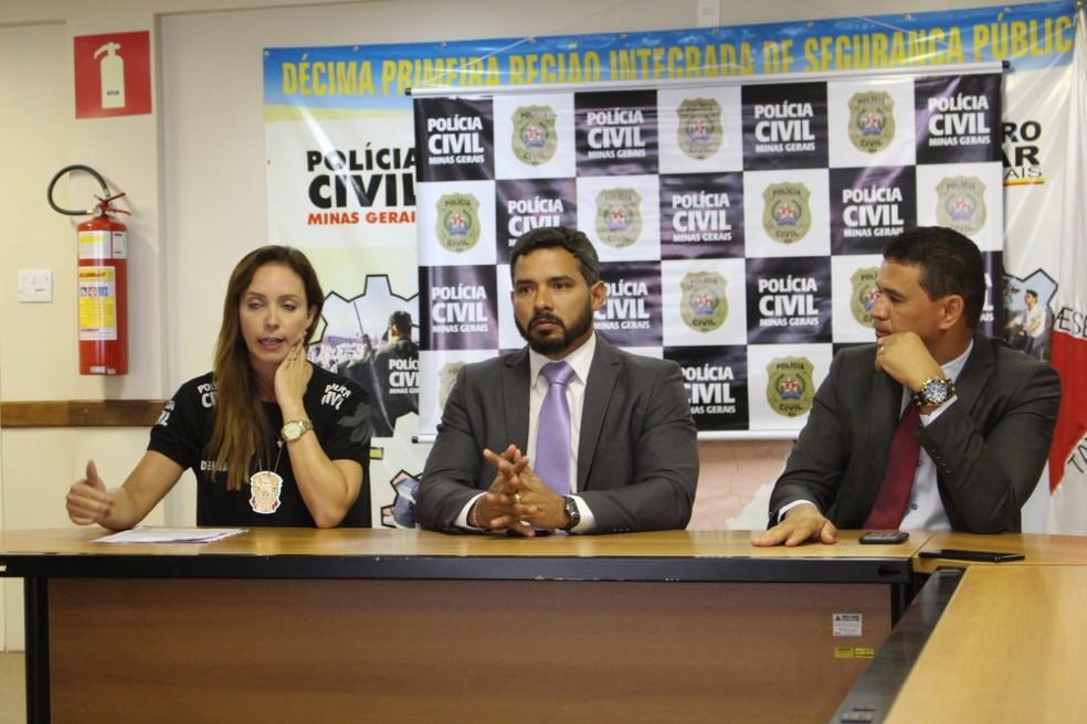 Balanço da operação foi apresentado durante coletiva de imprensa — Foto: Leonardo Queiroz/ Arquivo pessoal