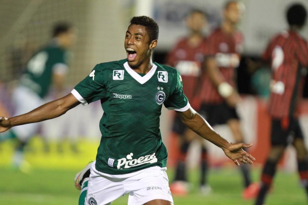 Bruno Henrique marcou 12 gols com a camisa do Goiás em 2015 — Foto: CARLOS COSTA/FUTURA PRESS/ESTADÃO CONTEÚDO