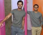 Rodrigo e Felipe Simas   TV Globo