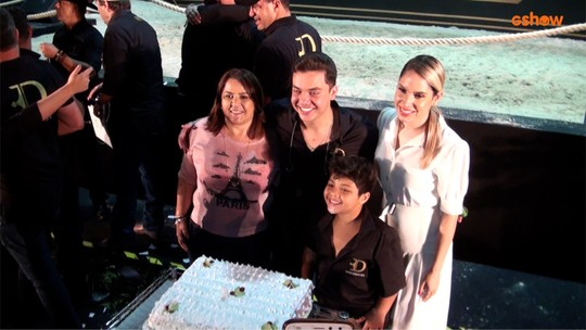 Wesley Safadão comemora aniversário com realização de projeto pessoal