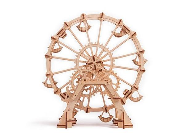 quebra-cabeca-3d-de-madeira-de-reflorestamento-wood-trick-roda-gigante.jpg (Foto: Divulgação)
