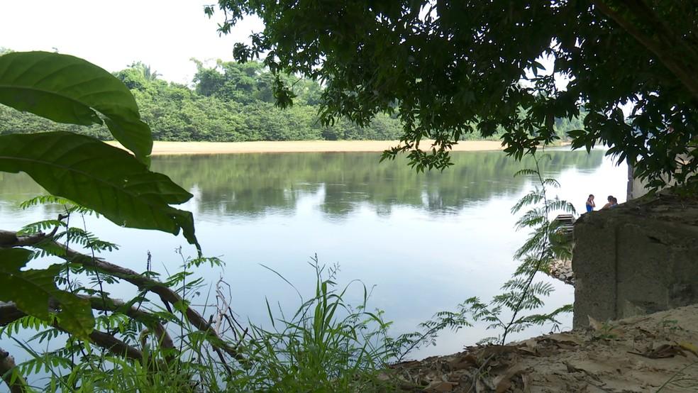 Garoto de 13 anos vai com amigos ao Rio Jamari e morre afogado em Ariquemes — Foto: Rede Amazônica/Reprodução
