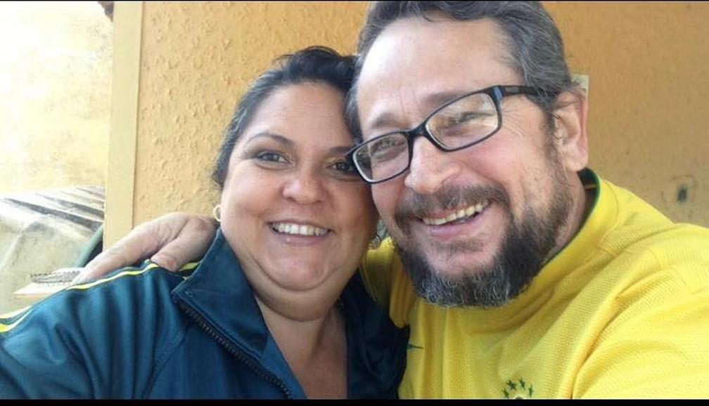Casal que estava em moto morreu em acidente em Andradas (MG) — Foto: Reprodução/EPTV