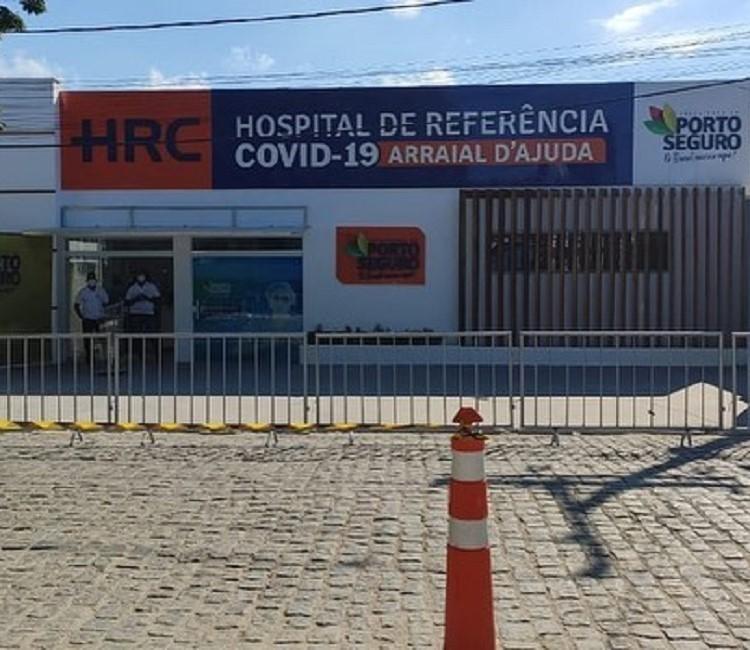 Hospital de Referência Covid-19 é inaugurado em distrito de Porto Seguro, no sul da Bahia