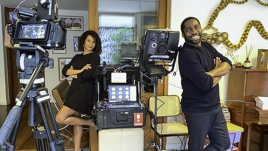 Taís Araujo sobre trabalho com Lázaro Ramos na série 'Amor e Sorte': 'Veio para nos fortalecer'
