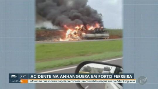 Motorista de caminhão que explodiu na SP-330 é identificado e será enterrado em Artur Nogueira