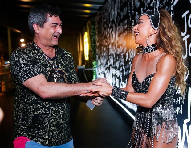 Zeca Camargo e Sabrina Sato (Foto: Brazil News)