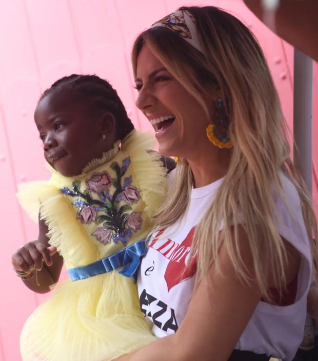Giovanna Ewbank e Titi (Foto: Anderson Borde/AgNews)
