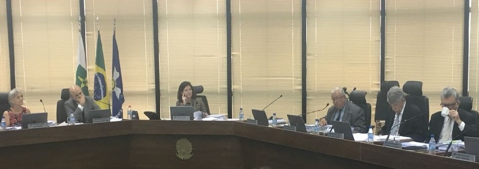 A procuradora-geral da República, Raquel Dodge, em sessão do Conselho Superior do Ministério Público (Foto: Marcus Barbosa/ G1)