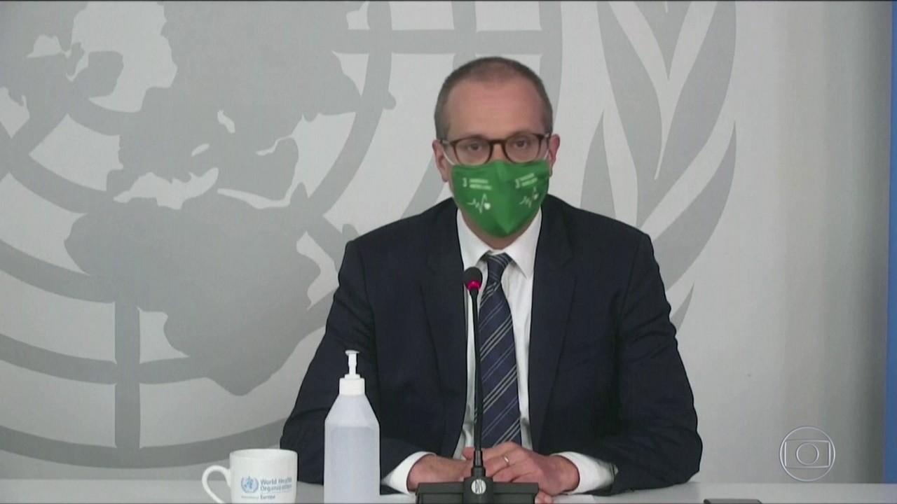 Diretor regional da OMS para a Europa afirma que uso de máscara pode evitar novo lockdown