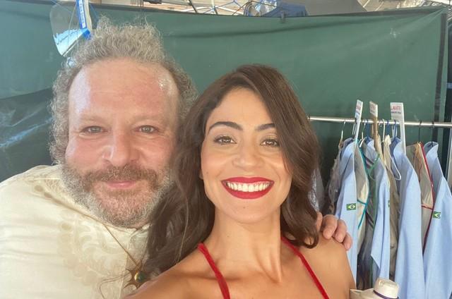 Charles Paraventi e Carol Casto (Foto: Arquivo pessoal)