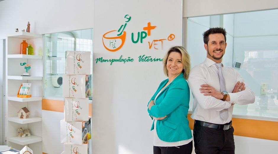 Lisandro e Patrícia Corazza da UpVet (Foto: Divulgação)