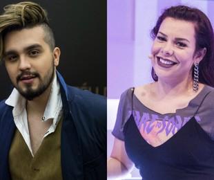 Luan Santana e Fernanda Souza   TV Globo