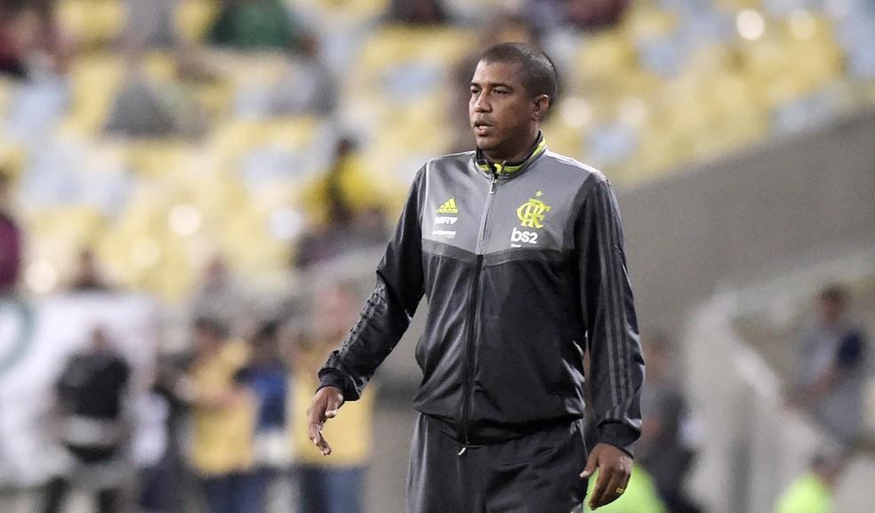 Marcelo Salles afirma que Jorge Jesus não deve ter gostado do que viu — Foto: André Durão/GloboEsporte.com