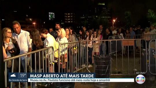 MASP fica aberto até 0h no último fim de semana da exposição de obras da Tarsila do Amaral