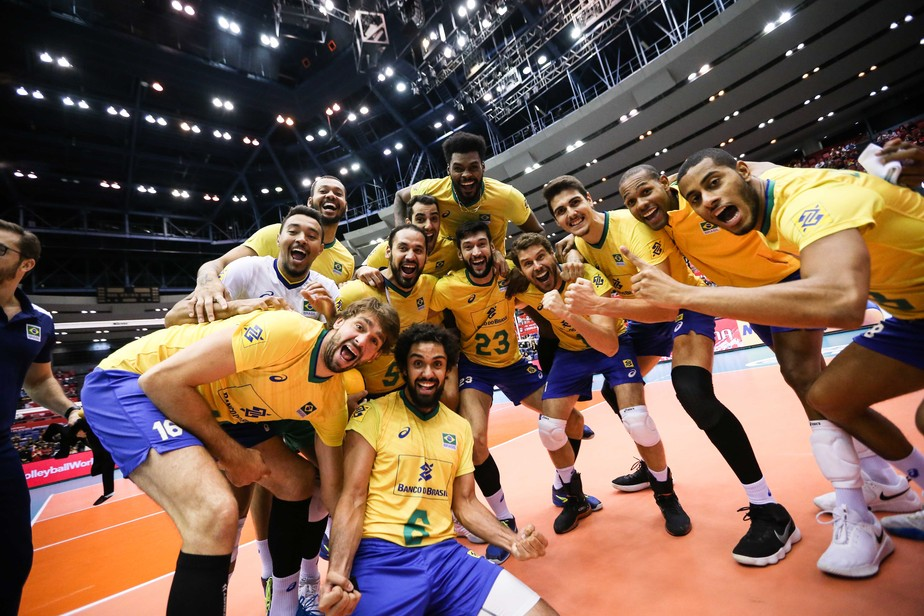 Boa notícia! Brasil estará no grupo mais difícil no vôlei masculino em Tóquio 2020; entenda