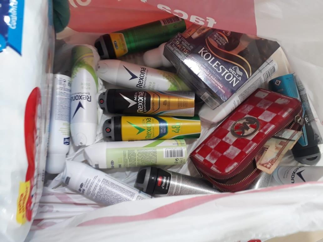 Grávida é presa por suspeita de furtar mercadorias em shopping de Boa Vista