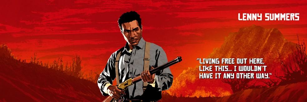 Lenny Summers, de Red Dead Redemption 2 — Foto: Divulgação/Rockstar