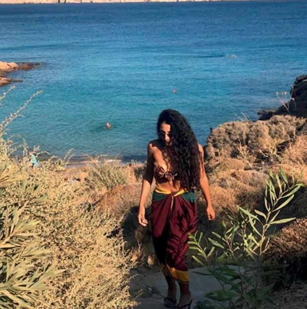 Zen em Mykonos (Foto: Divulgação e Reprodução/Instagram)