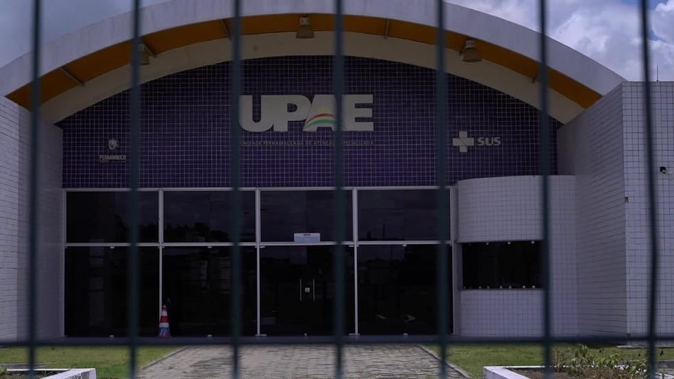 UPAE em Goiana está fechada e frustra moradores da região — Foto: Reprodução/TV Globo