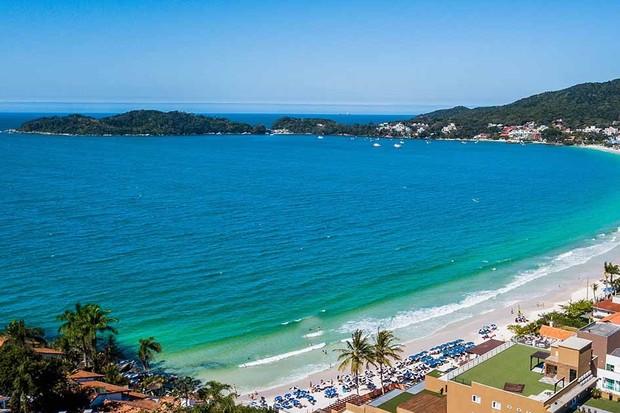Praia de Bombinhas UBER  (Foto: Divulgação )