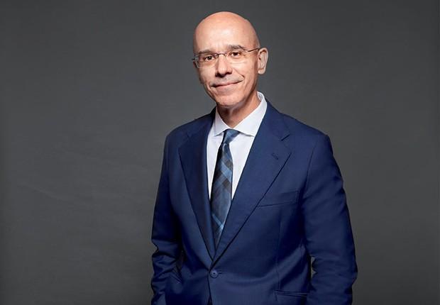 O executivo Sergio Agapito Lires Rial, de 58 anos, CEO do Banco Santander no Brasil (Foto: Arthur Nobre)