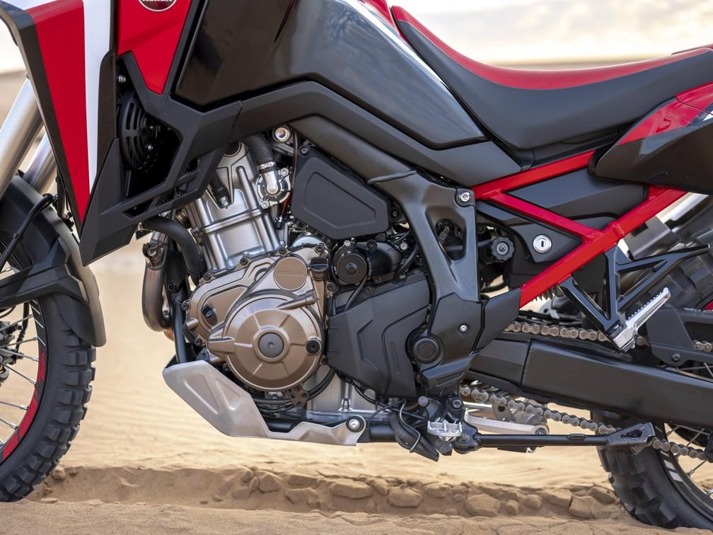 Honda CRF 1100L 2020 tem novo motor — Foto: Divulgação