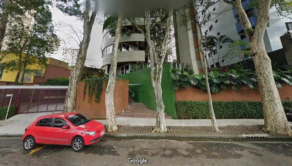 Dupla invadiu prédio em Santo André e um deles foi preso após porteiro desligar força e prender assaltante no elevador — Foto: Reprodução/Google Maps