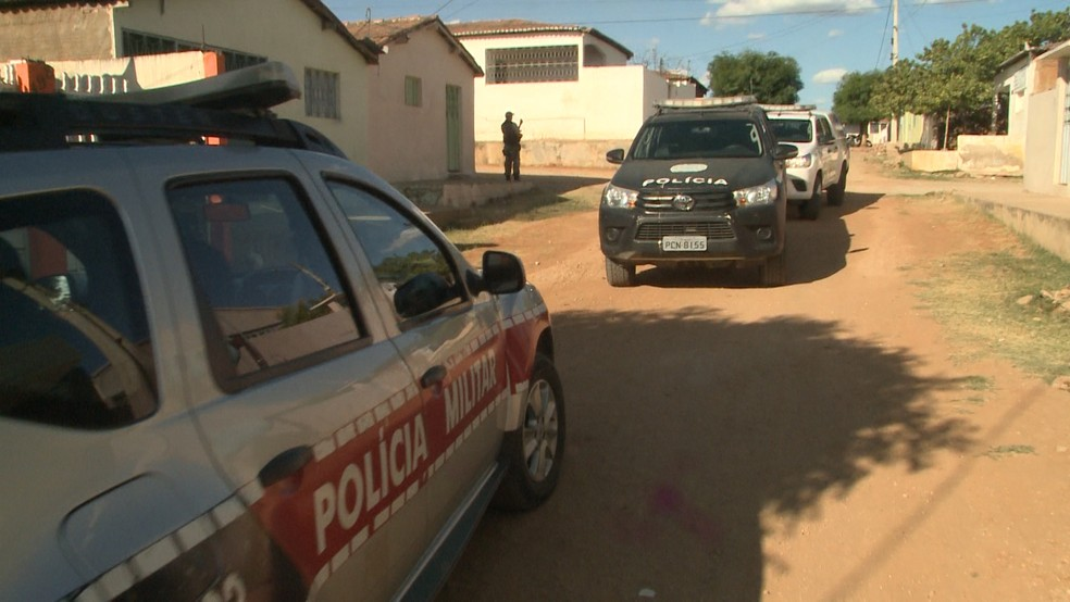 Prisão aconteceu nesta quarta-feira (12), em Pombal, no Sertão da Paraíba — Foto: Reprodução/TV Paraíba