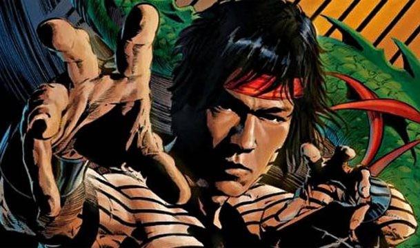 O herói Mestre do Kung Fu em cena de uma HQ da Marvel (Foto: Reprodução)
